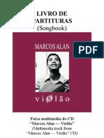 Marcos Alan - Livro de Partituras