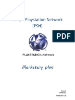 Marketing Plan - The Playstation Network