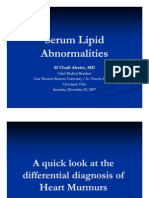 Serum Lipid Abnormalities
