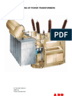 Testing of Power Transformer