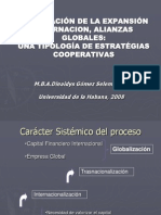 AceleracionDeLaExpansionInternacion,AlianzasGlobales