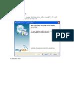 Instalacion de MY SQL