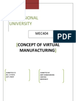 Virtual Manufacturing Termpaper