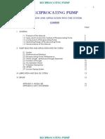 Reciprocating Pump Manual 1
