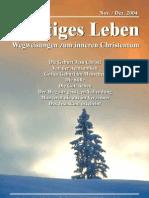 Geistiges Leben 2004-6