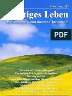 Geistiges Leben 2007-2