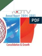 Ndtv Report 2003-04