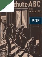 Luftschutz ABC - Wily Ley / Verlag Hachmeister & Thai Leipzig 1934