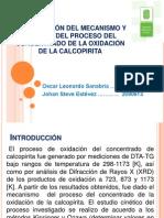 INVESTIGACIÓN DEL MECANISMO Y CINÉTICA DEL PROCESO DEL
