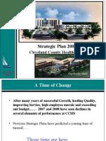 2009 Strategic Plan Presentation Final2