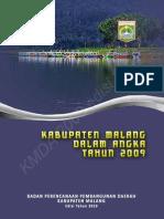 Kabupaten Malang Dalam Angka 2009