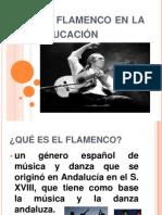 El flamenco en la educación