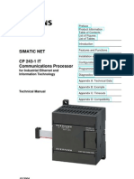 CP 243-1 IT Communications Processor for Industrial Ethernet and Information Technology 2 Www.otomasyonegitimi.com