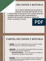 Cortes y Secciones