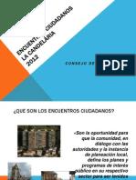 Encuentros Ciudadanos Candelaria 2012