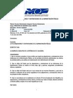 Ley de Adquisiciones y Contrataciones (LACAP)