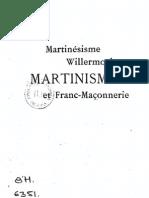 Papus me Martinisme
