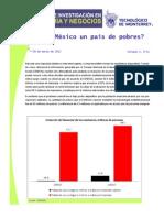 ¿Es México un país de pobres? - José Luis de la Cruz Gallegos