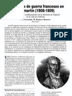 Prisioneros de guerra franceses en Villamartín (1808-1809)