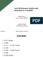 Notur Linux Multicore Performance Analysis Tutorial