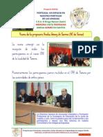 Proyecto -FIAVAL- Memoria Visita Amelia Gomez Do Santos