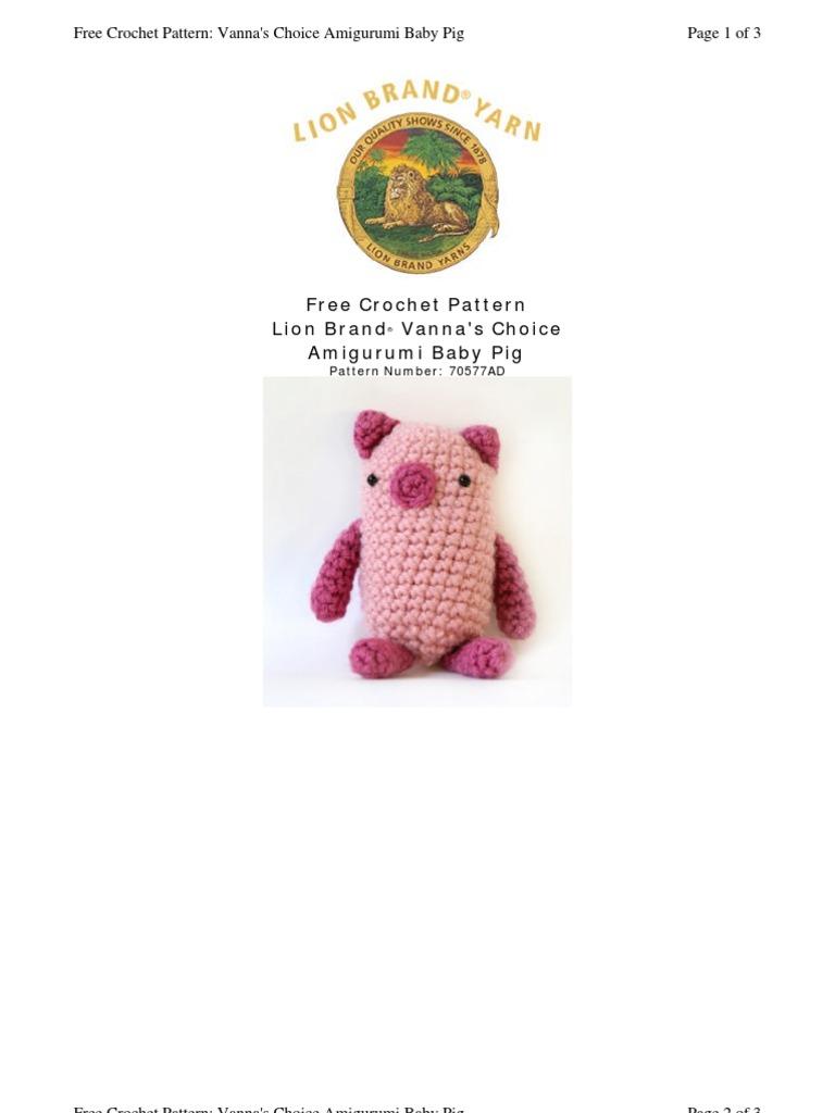 Chanchi Ami Crochet Gauge Knitting
