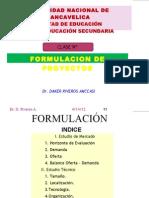 Formulación de proyectos 1