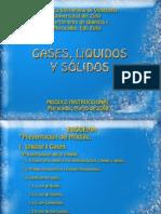 Gases, Liquidos y Solidos