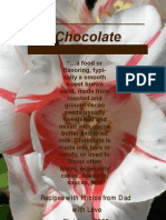 Chocolate Cookbook 2008