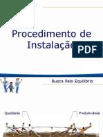 Treinamento - WL Procedimento de Instalação