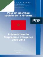 Rapport de Synthese Du Programme dUrgence