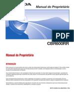 Manual CBR600RR 2006 Portugues