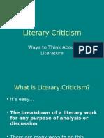 Literary Criticism[1]