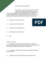 Simulado de LEI DE DIRETRIZES E BASES DA EDUCAÇÃO NACIONAL