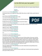DIA Questions 3-6