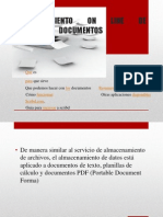 Almacenamiento on Line de Documentos