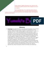 Yumeki's Book Version 0-1