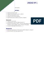 Unidad didáctica Matemática tercer grado