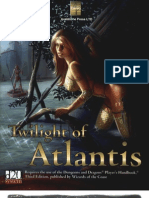 Avalanche Press - Twilight of Atlantis by Azamor