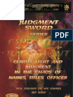 1e - Judgment Sword Series - Executed Judgment