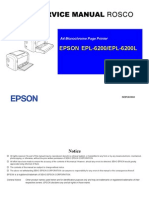 Epson EPL-6200'6200L Sm