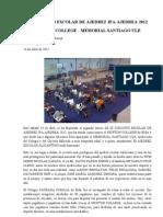 Ix Circuito Escolar de Ajedrez Ifa - Newton College - Memorial Santiago Ule