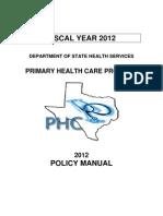 Phc Manual