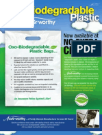 Oxo-Biodegradable Plastic Bags Flyer