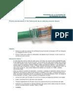 Aporte - Práctica de laboratorio 3.1.9c Fabricación de un cable de conexión directa