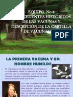 antescedentes historicos de vacunación