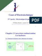 Cours Electronique Puissance Hacheur