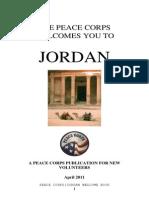 Peace Corps Jordan Welcome Book  |  June 2011