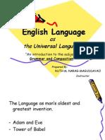 Lesson I Grammar Introduction