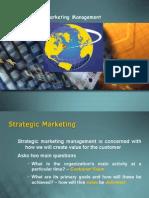 Strategic Marketing 1